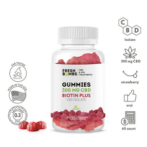 CBD Gummies -  - Fresh Bath Bombs - fresh-bombs