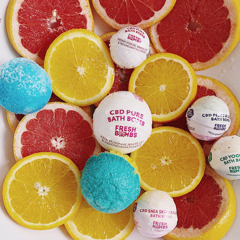 Image of CBD Bath bombs - CBD Bath - Fresh Bath Bombs - fresh-bombs