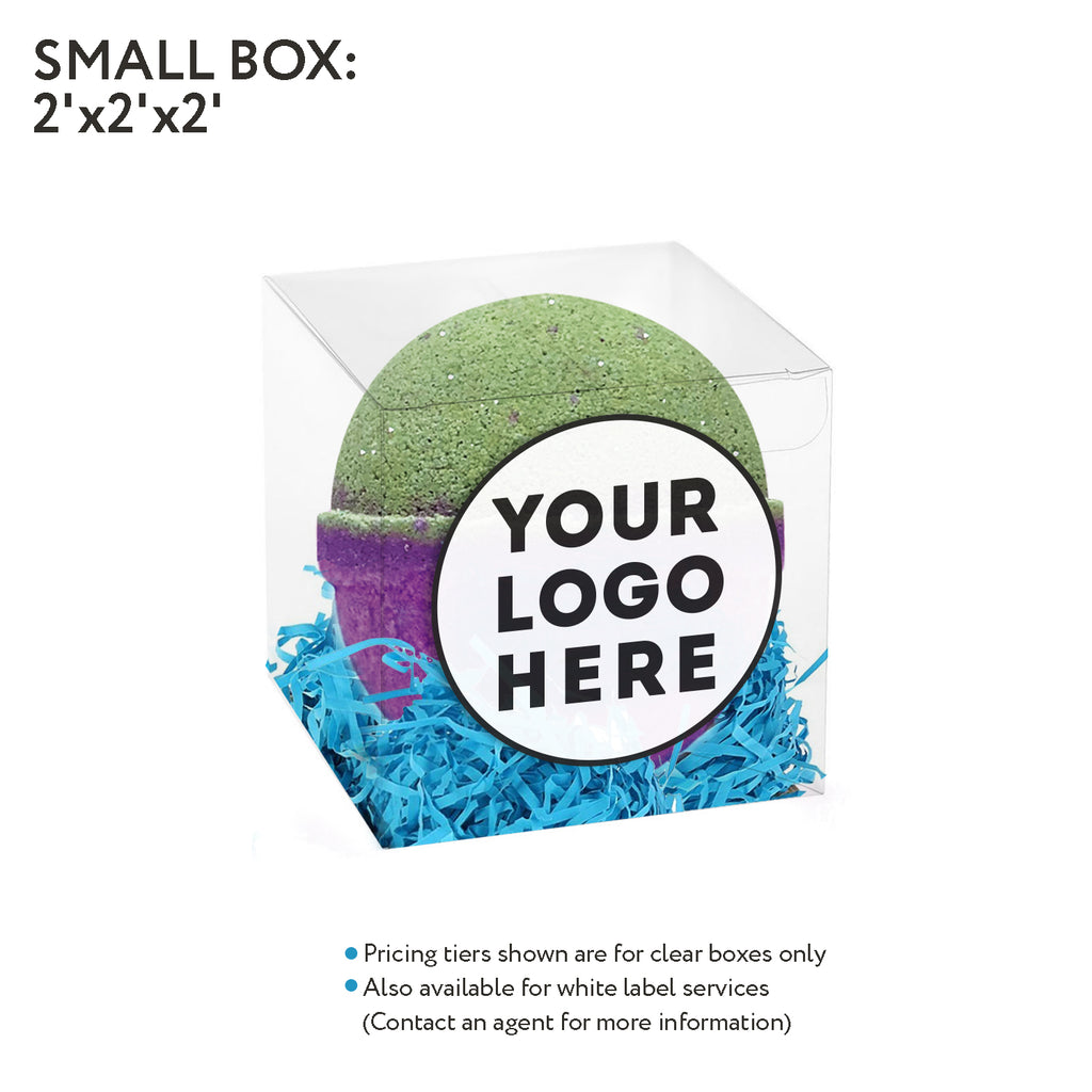 Clear box- 2oz Bath bomb - Accessories - Fresh Bombs - fresh-bombs