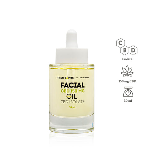 Image of CBD Facial Oil - CBD FACE - Fresh Bombs - fresh-bombs