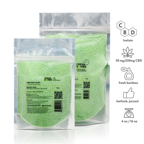 Image of CBD Bath Fizzy dust - CBD Bath - Fresh Bath Bombs - fresh-bombs
