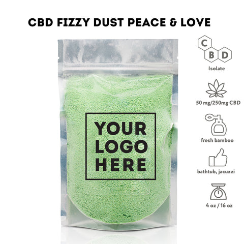 Image of Bulk CBD Bath Fizzy dust - Bulk CBD Bath - Fresh Bath Bombs - fresh-bombs