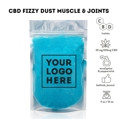 Bulk CBD Bath Fizzy dust - Bulk CBD Bath - Fresh Bath Bombs - fresh-bombs