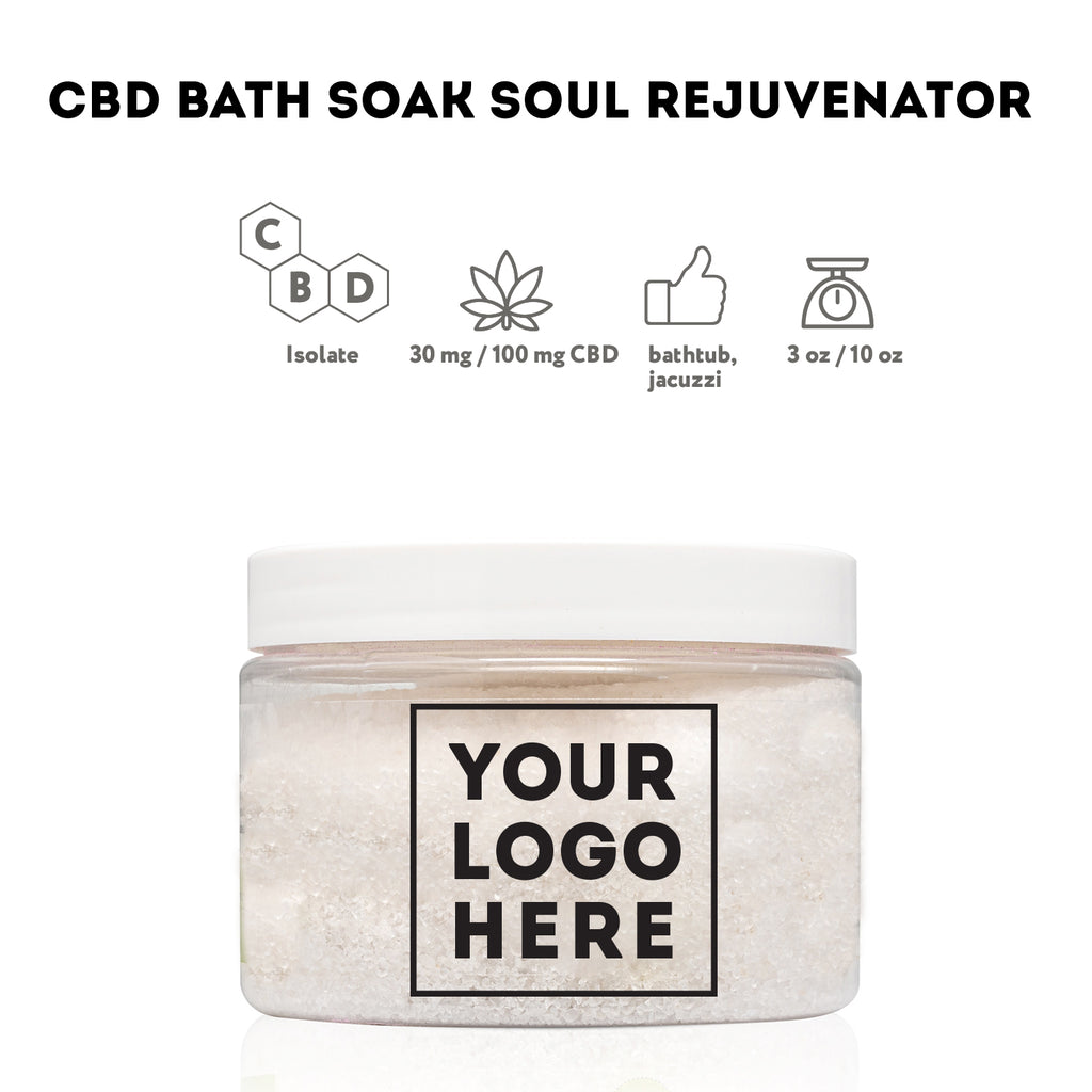 Bulk CBD Soak Salt - Bulk CBD Bath - Fresh Bath Bombs - fresh-bombs