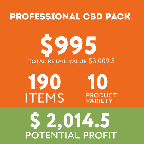 Image of Wholesale CBD- Professional Pack - Wholesale pack - Fresh Bombs - fresh-bombs