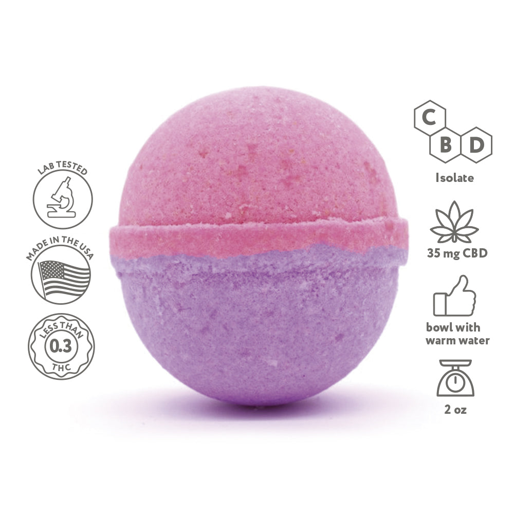 CBD Pedicure bombs -  - Fresh Bath Bombs - fresh-bombs