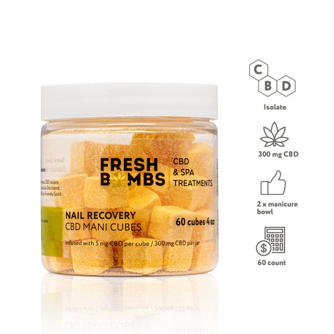 Bulk CBD Manicure Cubes - Buld CBD Body - Fresh Bombs - fresh-bombs