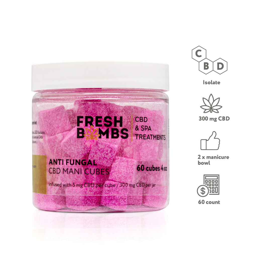 CBD Manicure Cubes - CBD Body - Fresh Bombs - fresh-bombs