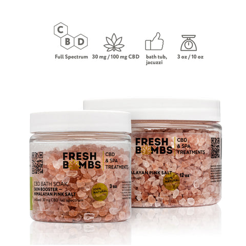 Image of CBD Soak Salt - CBD Body - Fresh Bath Bombs - fresh-bombs