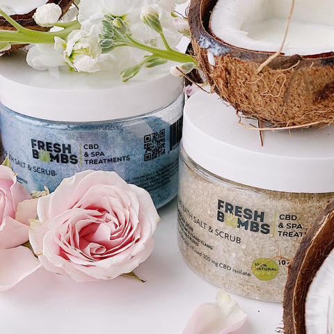 Image of CBD Salt Scrub