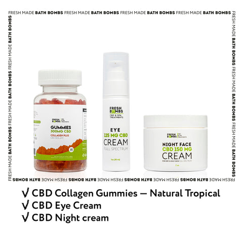 CBD Skin Perfection pack -  - Fresh Bombs - fresh-bombs