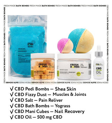 Image of Bulk CBD Introduction pack - Bulk CBD Variety packs - Fresh Bombs - fresh-bombs