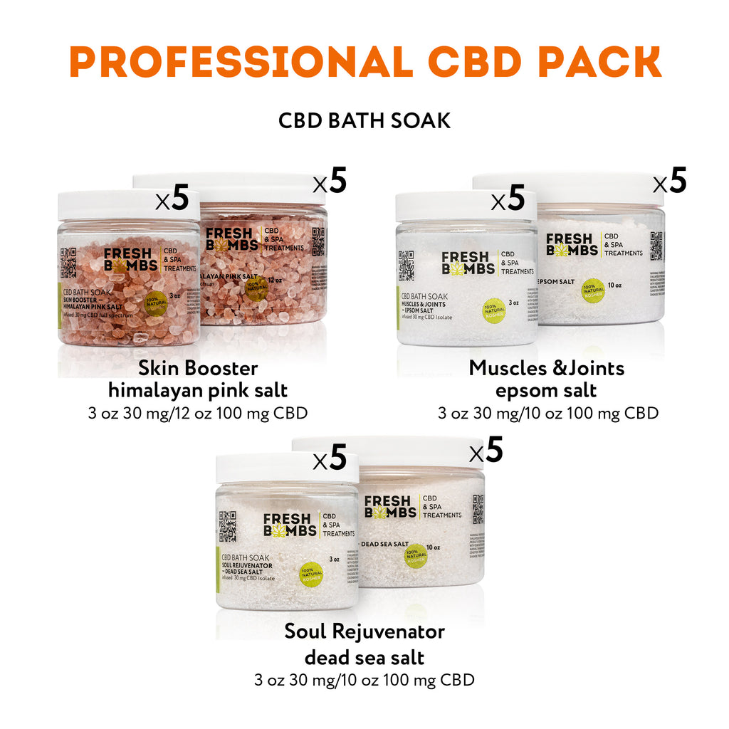 Wholesale CBD Professional Pack