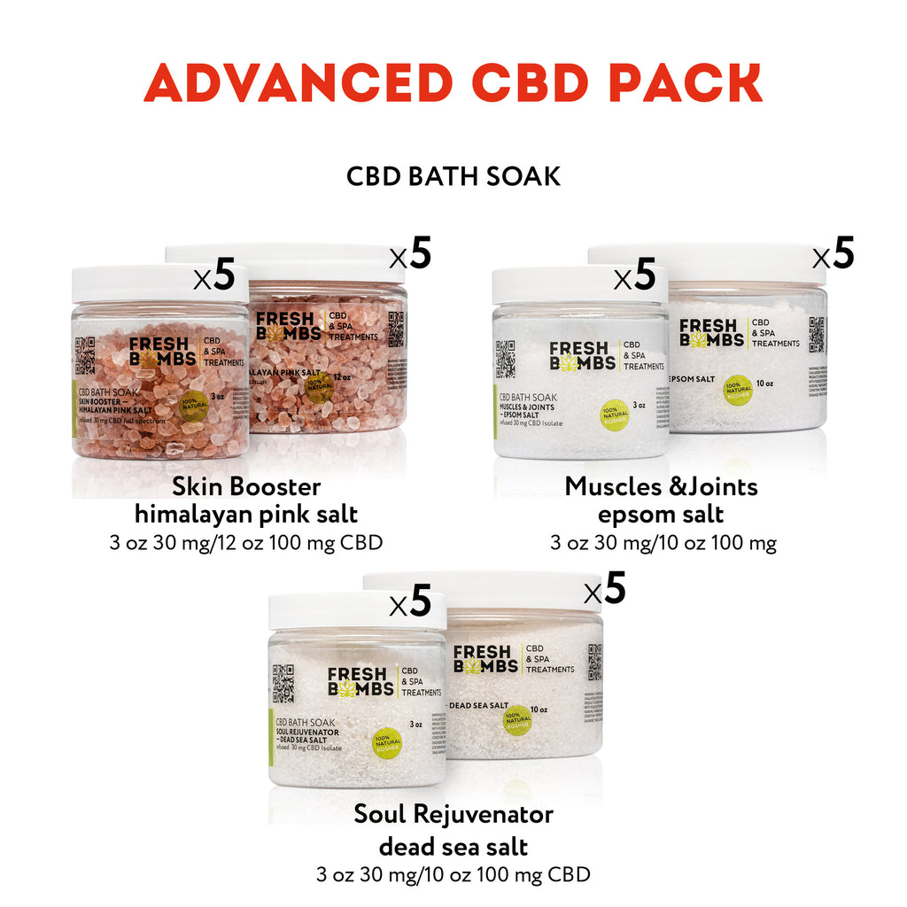 Wholesale CBD Advanced Pack