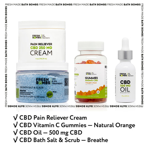 CBD Recovery pack -  - Fresh Bombs - fresh-bombs