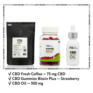 CBD Nutrition pack - CBD Variety packs - Fresh Bombs - fresh-bombs