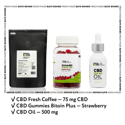 Image of CBD Nutrition pack - CBD Variety packs - Fresh Bombs - fresh-bombs