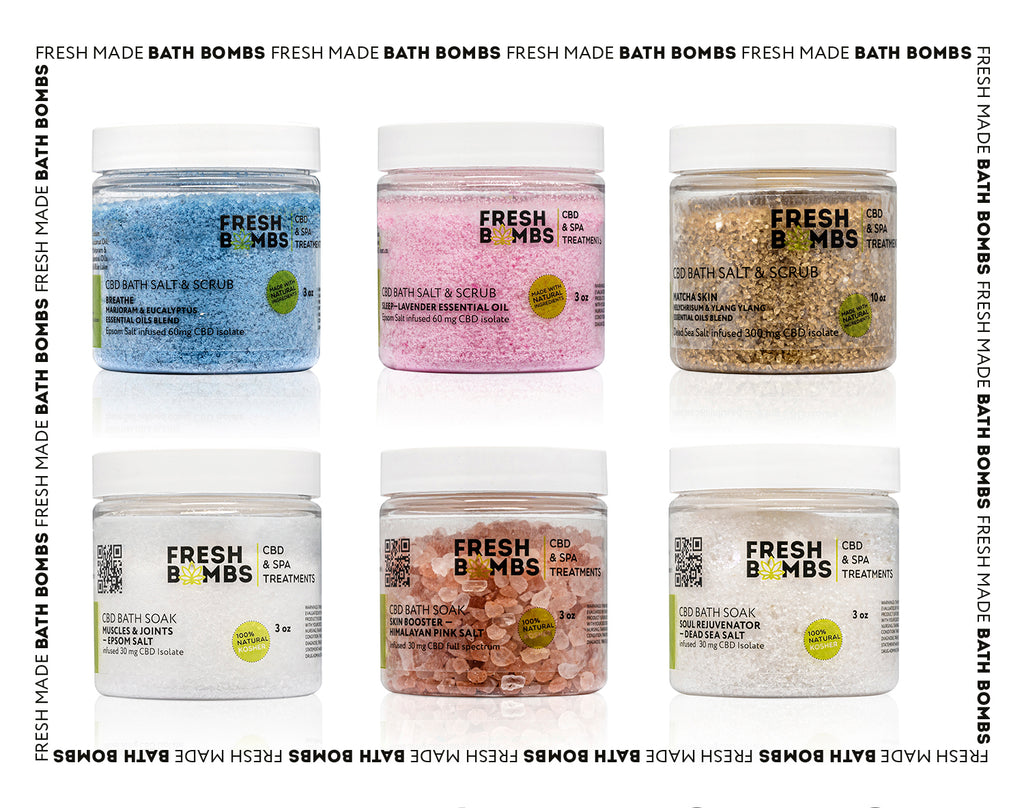 Wholesale CBD Intro pack- Salts