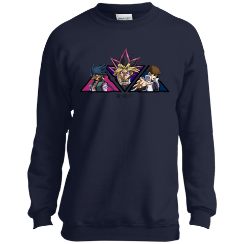 Dark Side Trio Youth Crewneck Sweatshirt
