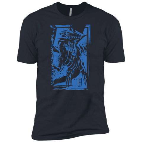 Blue-Eyes White Dragon - Next Level Premium Short Sleeve T-Shirt