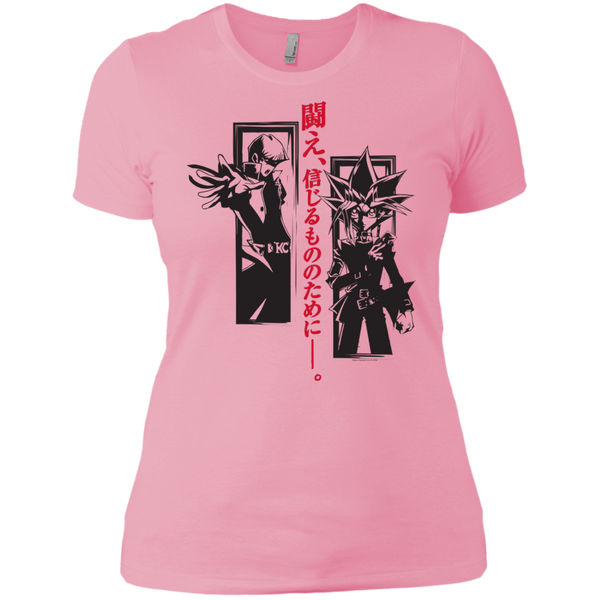 Dark Side Duel Next Level Ladies' Boyfriend Tee