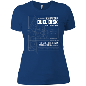 Duel Disk - Next Level Ladies' Boyfriend T-Shirt