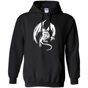 BEWD White Pullover Hoodie 8 oz