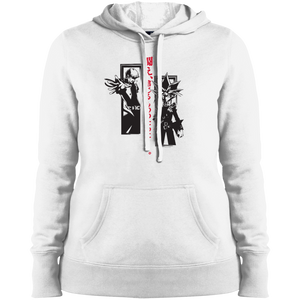 Dark Side Duel Ladies Pullover Hooded Sweatshirt