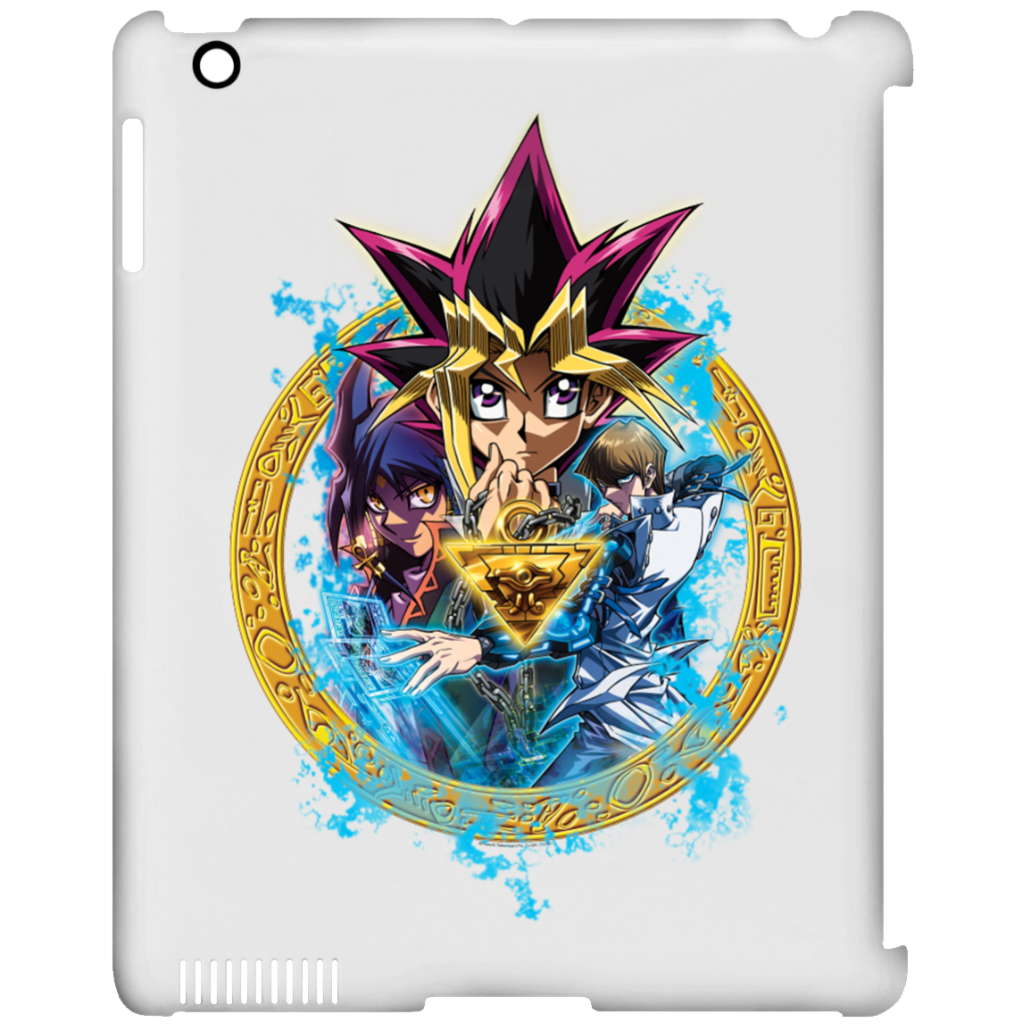 Dark Side of Dimensions iPad Clip Case
