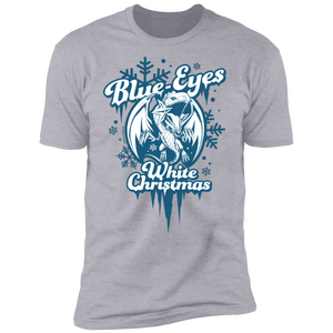 Blue-Eyes White Christmas Next Level Premium Short Sleeve T-Shirt