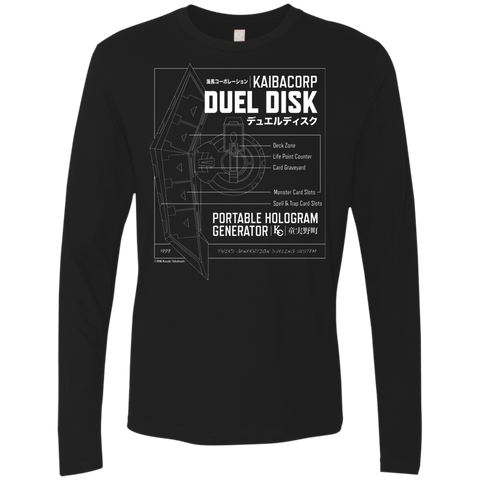 Duel Disk - Next Level Men's Premium LS