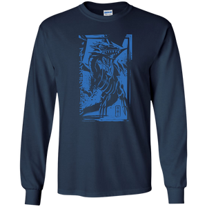 Blue-Eyes White Dragon - Gildan Youth LS T-ShirtBlue-Eyes White Dragon