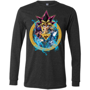 Dark Side of Dimensions Bella+Canvas Men's Jersey Long Sleeve