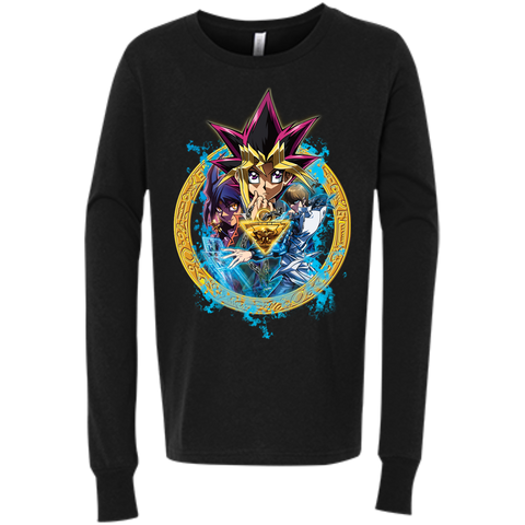 Dark Side of Dimensions Bella+Canvas Youth Jersey Long Sleeve
