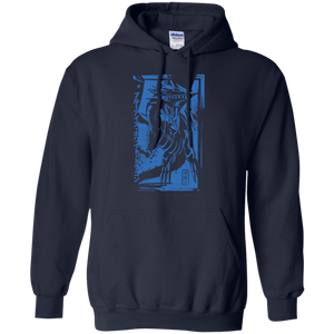 Blue-Eyes White Dragon - Gildan Pullover Hoodie 8 oz.