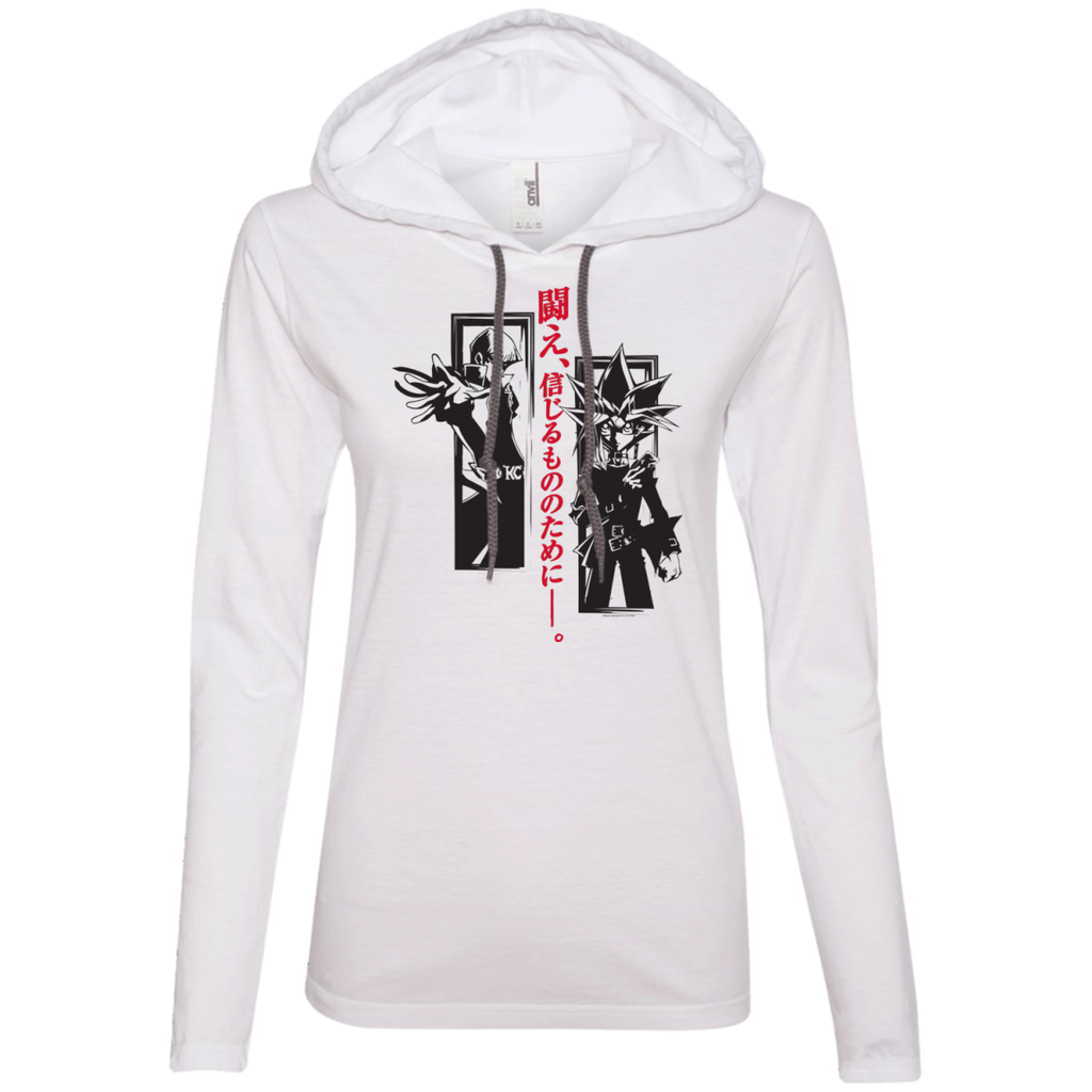 Dark Side Duel Ladies LS T-Shirt Hoodie