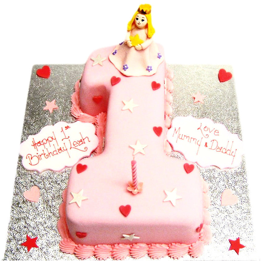 Astonishing 1St Birthday Cake Buy Online Free Uk Delivery New Cakes Personalised Birthday Cards Arneslily Jamesorg