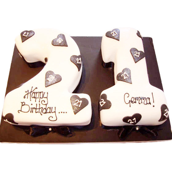 Strange 21St Birthday Cake Buy Online Free Uk Delivery New Cakes Personalised Birthday Cards Beptaeletsinfo