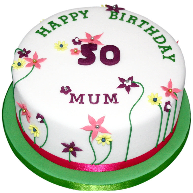 Wondrous 50Th Birthday Cake Buy Online Free Uk Delivery New Cakes Funny Birthday Cards Online Alyptdamsfinfo