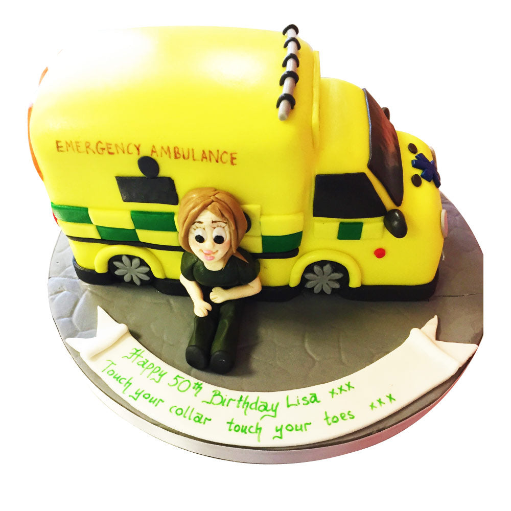 Ambulance Cake Buy Online Free Uk Delivery New Cakes