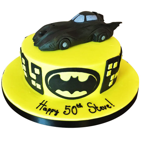 Batmobile cake - Last minute cakes delivered tomorrow!