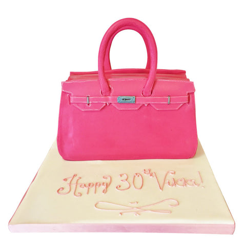 Berkin handbag cake - Last minute cakes delivered tomorrow!