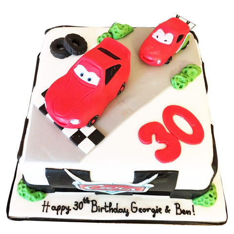 Amazing Disney Cars Cake Buy Online Free Uk Delivery New Cakes Funny Birthday Cards Online Alyptdamsfinfo