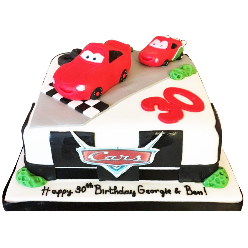 Groovy Disney Cars Cake Buy Online Free Uk Delivery New Cakes Funny Birthday Cards Online Alyptdamsfinfo