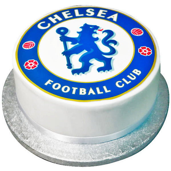 Stupendous Chelsea Fc Cake Free Next Day Delivery New Cakes Funny Birthday Cards Online Alyptdamsfinfo