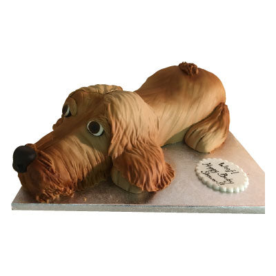 Cocker Spaniel Dog Cake - Last minute cakes delivered tomorrow!