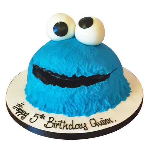 Cookie Monster cake - Last minute cakes delivered tomorrow!