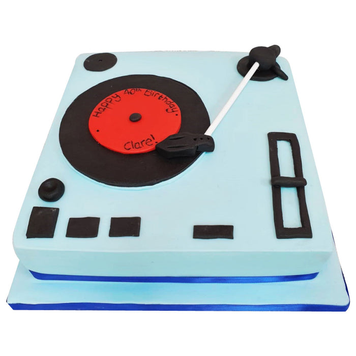 DJ / Music Cake - Last minute cakes delivered tomorrow!