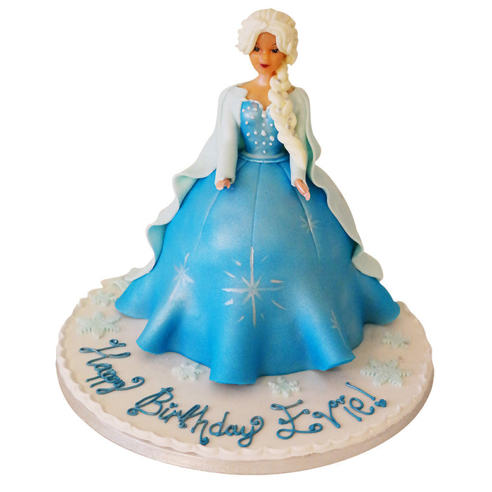 Frozen Elsa Doll Cake - Last minute cakes delivered tomorrow!