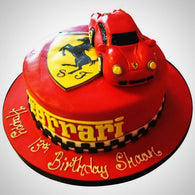 Ferrari Cake - Last minute cakes delivered tomorrow!